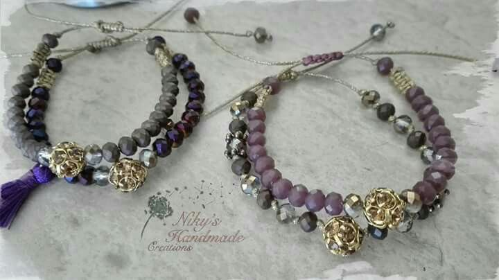 "Bracelets ""Niky's handmade creations"""