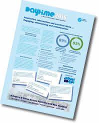 DAYTiME Conference in: 1. BRISBANE - Fri 3 June 2016 and 2. AUCKLAND - Fri 17 June 2016