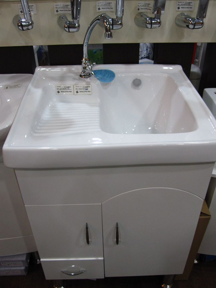 Double Utility Sink With Scrub Board   Google Search