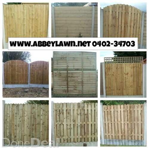 All types of fencing supplied