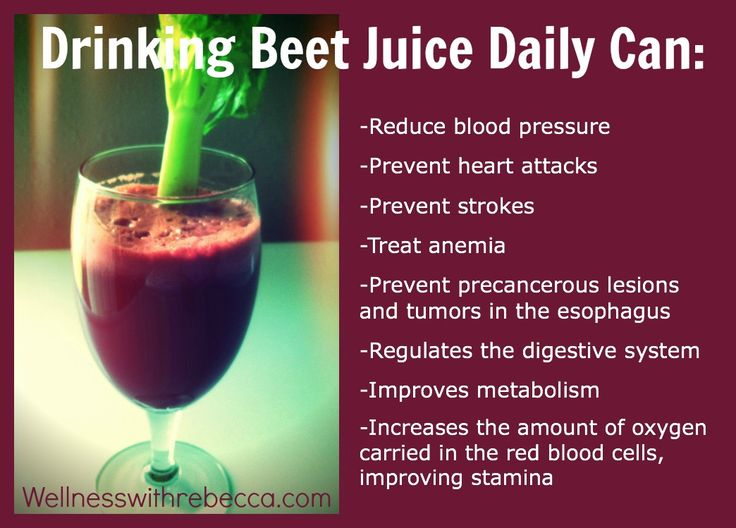 Side Effects Of Drinking Beetroot Juice Daily