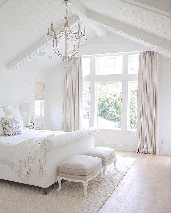 Bedroom Ideas White white interiors - home design