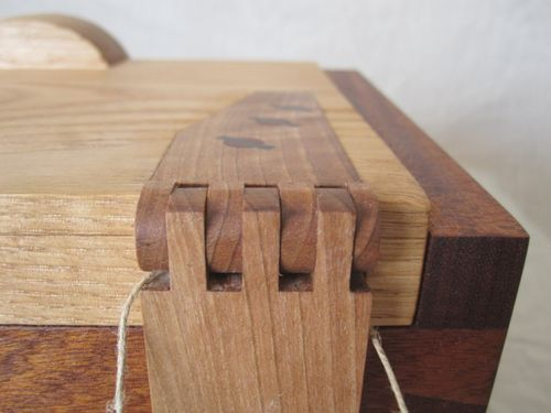 Gorgeous Box And Wooden Hinges For The Home Wood