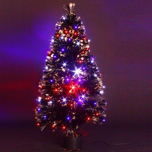 Fresh LED Weihnachtsbaum u k nstlicher Weihnachtsbaum aus Glasfaser