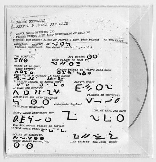 James Ferraro - Jarvid 9: Kava Jar Race (CDr) at Discogs
