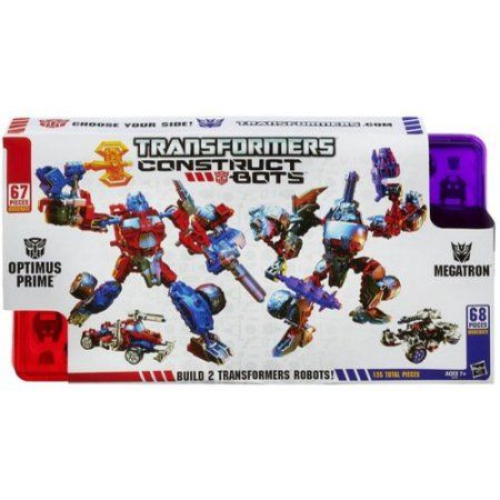 Free Shipping. Buy Transformers Construct-Bots Optimus Prime Vs. Megatron Construction Play Set at Walmart.com