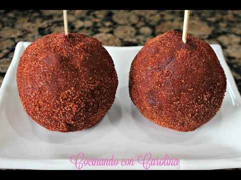 How to make a Chamoy Apple - YouTube