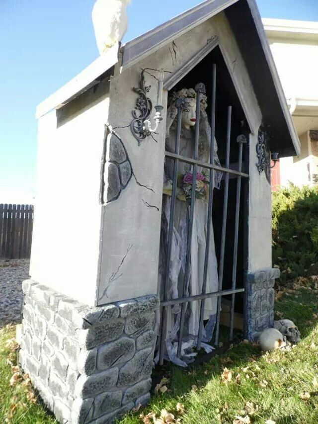17 best images about celtic lane cemetery halloween Mausoleum design