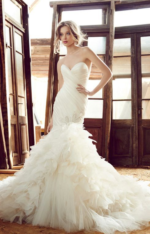 Lazaro Wedding Dress Inspiration