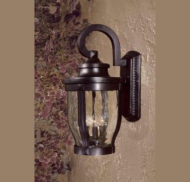 The Great Outdoors Merrimack 3 Light Wall Mount