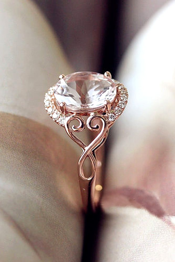 36 Morganite Engagement Rings We Are Obsessed With Toit Nups
