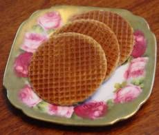 Stroopwafels! These delicious, thin, carmel filled waffles are addictive. Just warning you...