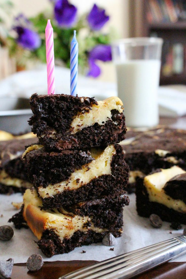Marbled Cheesecake Brownies | Cheesecake Brownies, Cheesecake and ...