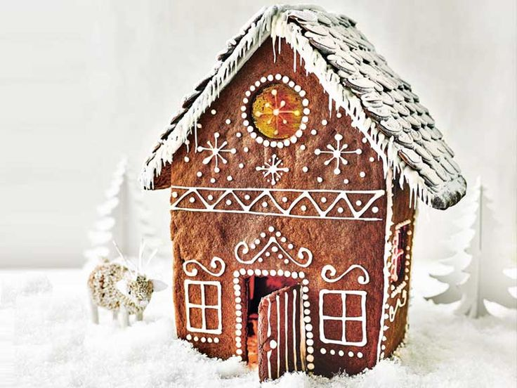 Paul Hollywood's gingerbread house recipe