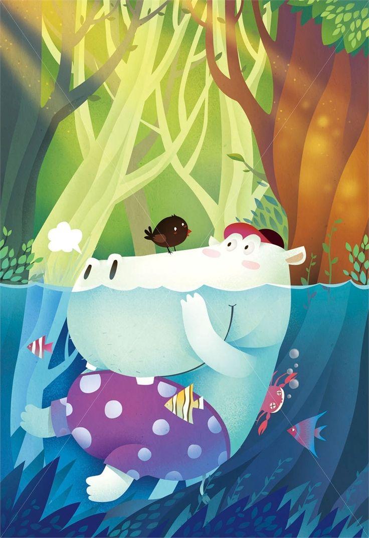 Watercolor books for kids - Steve Dorado Illustrator For Children S Books