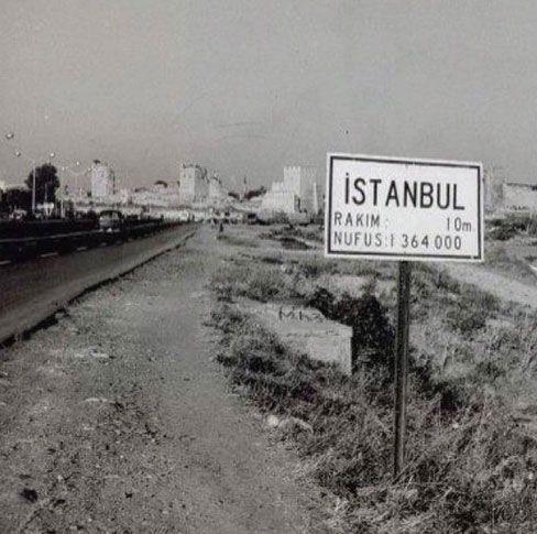 Topkapı... İstanbul-un girişi. (1950-li yılların başı)