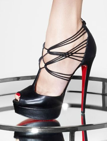 On the wish list - Christian Louboutin pumps.