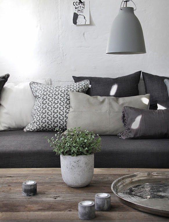 Die besten 25+ weißes Sofa Dekor Ideen auf Pinterest Wohnung - bahir wohnzimmermobel design