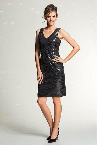 Dresses - Grace Hill Sequin Dress
