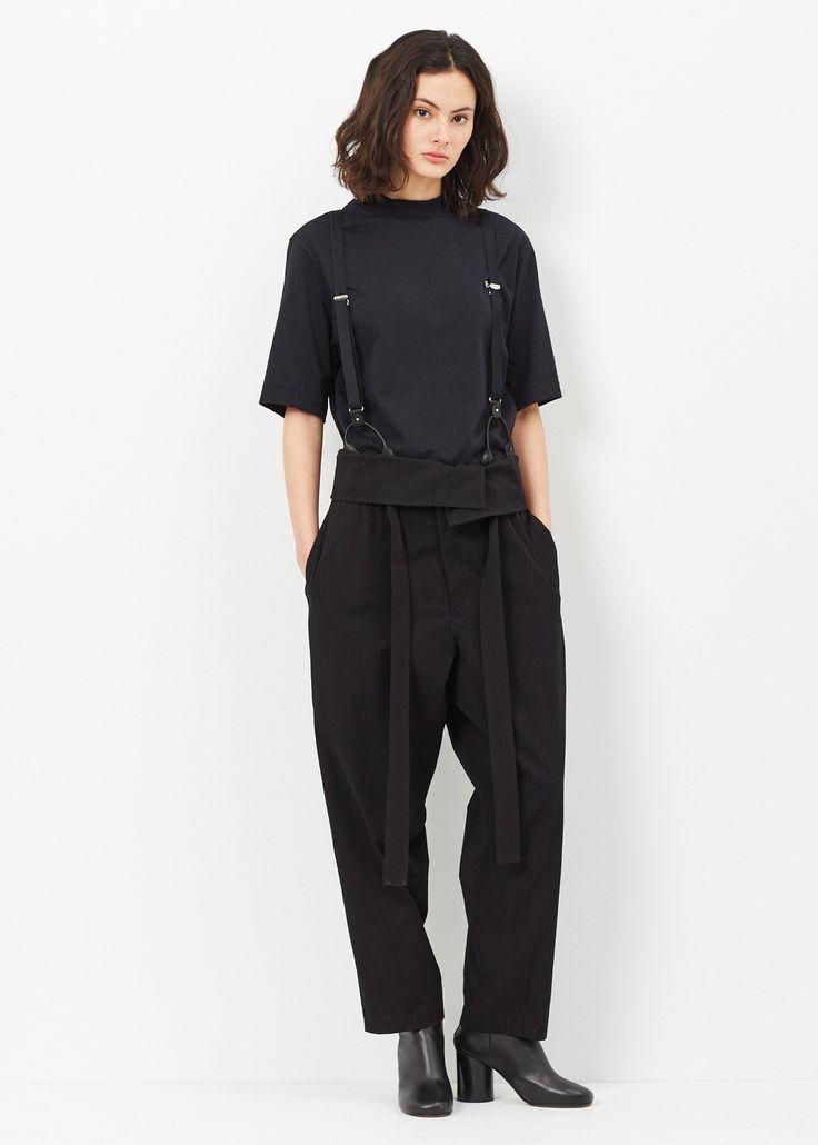 Y's by Yohji Yamamoto Sash Belt Pant (Black)