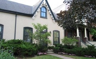 Exterior house painting and restorations by ColourWorks Painting Design Toronto
