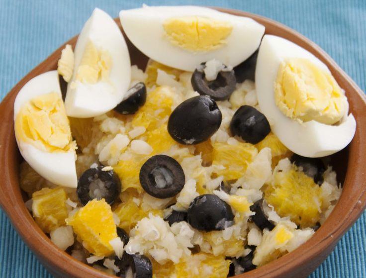 Remojón Granadino - Ensalada de naranja y bacalao (Cod and oranges salad) #paleo #whole30