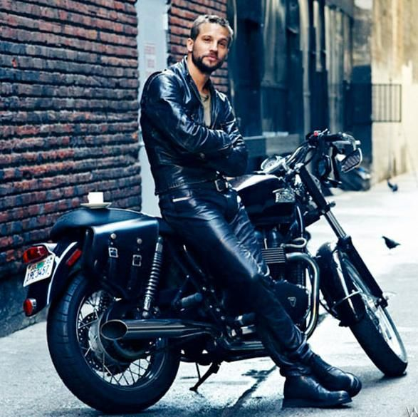 Logan-Marshall Green in black leather boots #Motorcycle #boots #fashion At Eagle Ages we love Motrocycle boots. You can find a great choice of second hands & vintage Motorcycle boots in our store. https://eagleages.com/shoes/boots/men-boots/motorcycle-boots.html