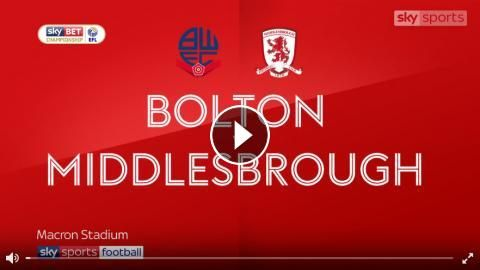 Video: Bolton Wanderers 0 - 3 Middlesbrough Highlights and All Goals Online - Sky Bet Championship - 9 September 2017 - FootballVideoHighlights.com. Y...