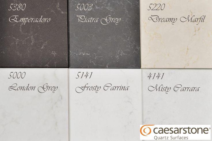 Quartz that looks like marble - the new range of quartz worktops from Caesarstone