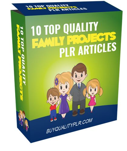 10 Top Quality Family Projects PLR Articles - http://www.buyqualityplr.com/plr-store/10-top-quality-family-projects-plr-articles/. 10 Top Quality Family Projects PLR Articles #FamilyProjects #FamilyProjectsPLR #FamilyProjectsPLRArticles #PLR #PLRcontent In this PLR Content Pack You'll get 10 Top Quality Family Projects Articles with Private Label Rights to help you dominate the Family market which is a highly profitable and ....