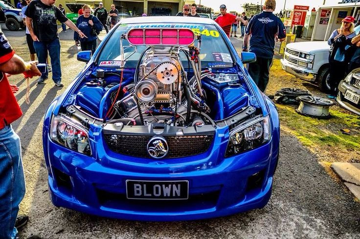 Holden Commodore Blown
