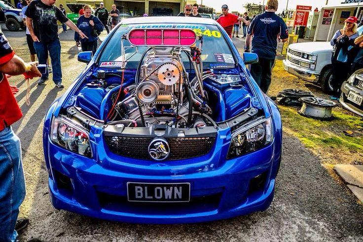 Holden Commodore Blown