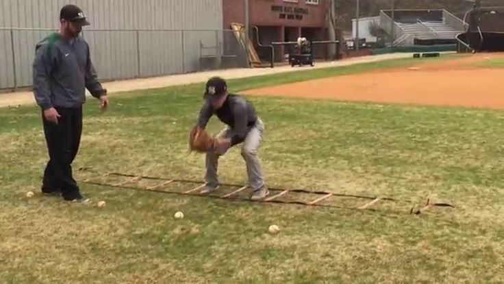 3 déplacements de base au sol (avec échelle) suivi d'un lancer