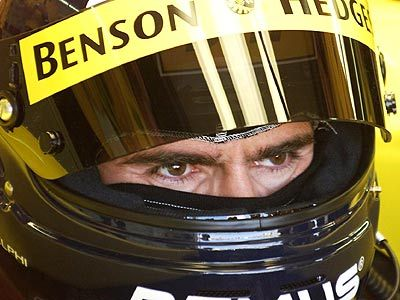 Damon Hill: those eyes are unmistakable.