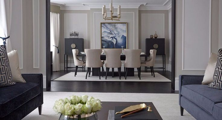 Throwback to our tour of @boscolodesign's distinguished Malborough Mansions project. The period London apartment characterised by sky-high ceilings and original covings is given a sensitive 21st-century upgrade by the studio. Click the link in our bio to explore the project. #luxdeco #londoninteriors #periodhome #modernelegance #interiordesign #luxuryinteriors #homedecor #interiorstyling #interiorinspiration