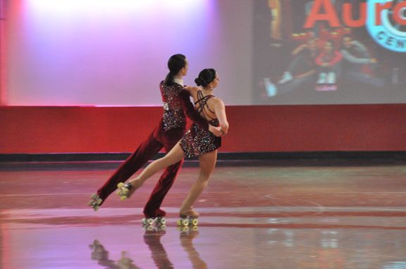 Artistic Roller Skating Competition