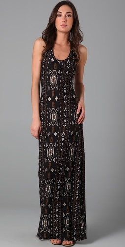 Torn by Ronny Kobo Maria Aztec Long Dress #maxi