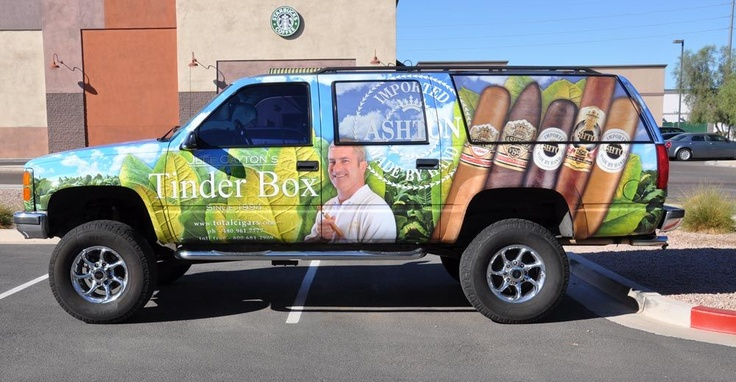 Here is an amazing example of a full coverage, custom vehicle wrap.