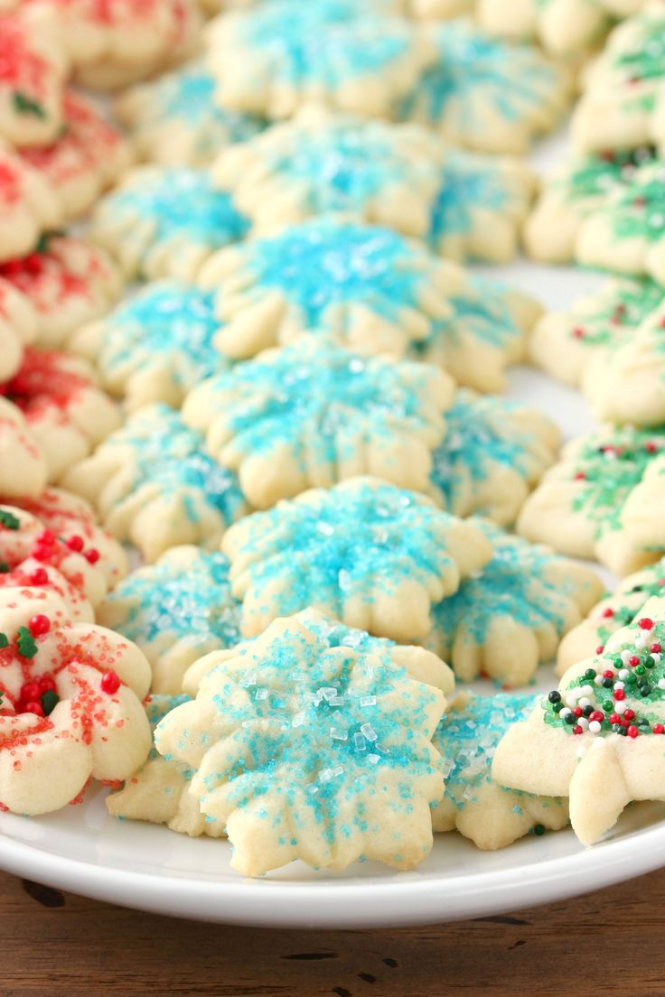 Classic Spritz Cookies Recipe from A Kitchen Addiction
