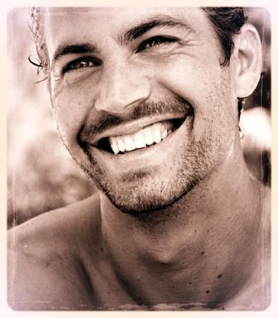 Paul Walker ~ Just look at that smile! And he seemed like a genuinely nice guy.
