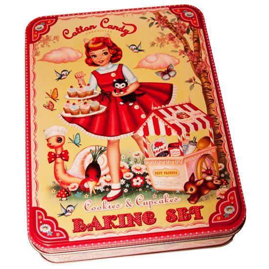 Kitsch.fi - Cotton Candy, Cupcake Kit, 27,90,-