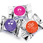 Personalized Musical Themed YORK Peppermint Patties - Musical Theme Wedding Favors - Wedding Favor Themes - Wedding Favors  Party Supplies - Favors and Flowers
