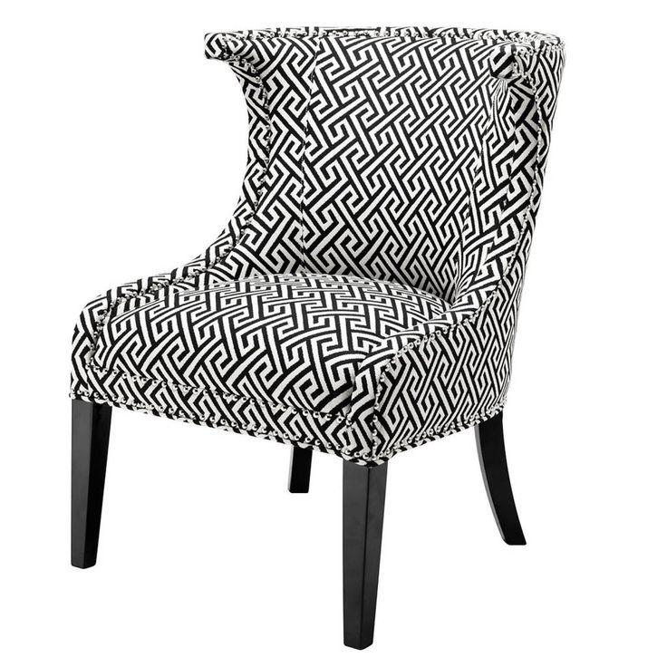 EICHHOLTZ BV Interieur voor Sofa's en moderne stoel Carson Fauteuil en Stoel Elson. De Fauteuil Zebra. Stoel chair  Garcia in rood, zwart en blauw.