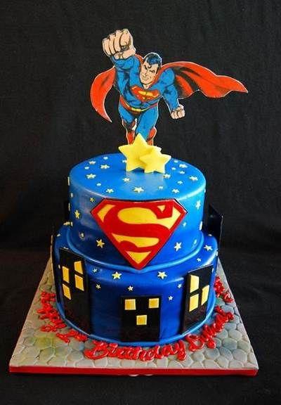 Superman Birthday Cakes Ideas