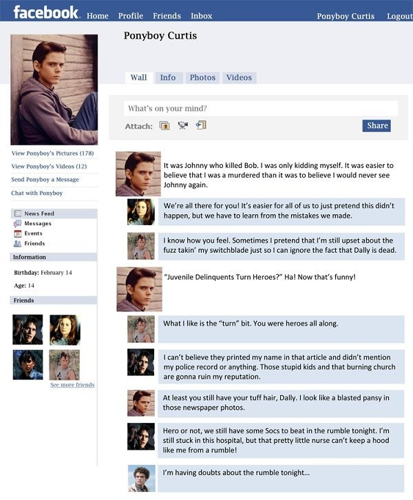 What Page Number Is The Quote Stay Gold Ponyboy On: 103 Best Images About The Outsiders And Cast On Pinterest