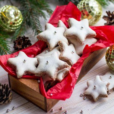 Миндальное рождественское печенье