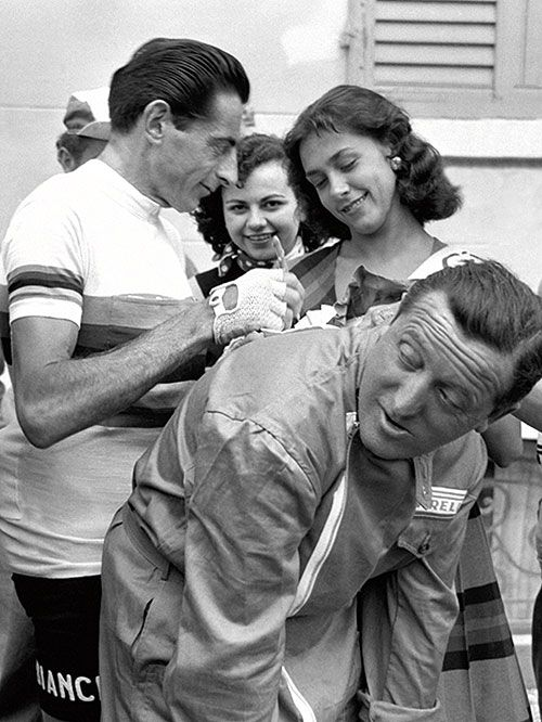 Fausto 'Il Campionissimo' Coppi the Italian cycling legend: in pictures