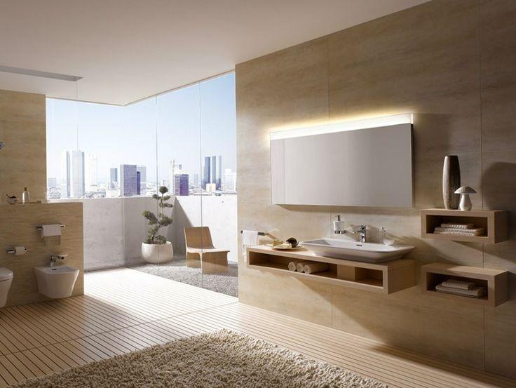 TOTO MH Series Oak white1,065.00 E Piano lavabo singolo in legno Piano sottolavabo per lavabo a incasso, incasso a destra; da abbinare al sifone salvaspazio 1400 x 440 x 210