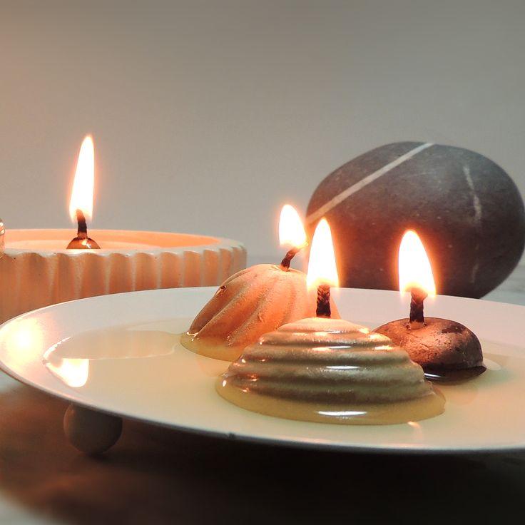 LJUSBRINGARE® brinner fossilfritt på vanlig matolja.