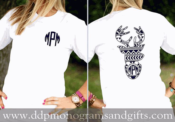 PERSONALIZED FULL BACK AZTEC DEER SHORT SLEEVE SHIRT